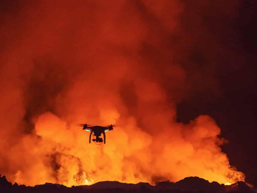 filmari cu drona pentru stiri
